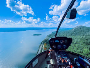 West Point Adventurer helicopter tour
